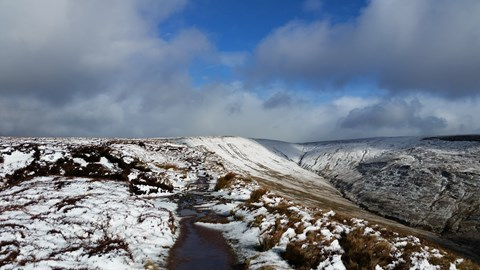 Waun Rydd at the beginning of March