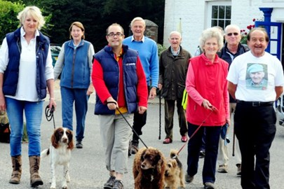 Before the Walk 2015 from the Badgers