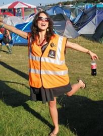 Me volunteering for Oxfam at Leeds