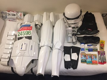 Pre Marathon Kit Check