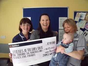 Donation £1675 - 10th May 2010