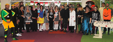 Halloween fund raising at LFL