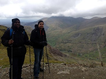 Last time up a mountain - doing Snowdon!