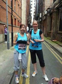 Before the Manchester 10K (20.5.12)