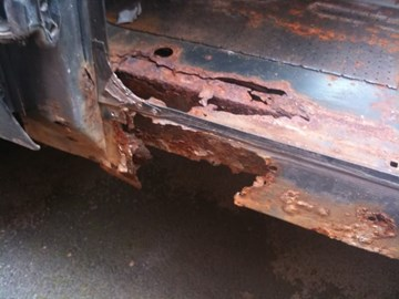 There was lots of rust