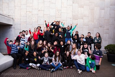 Young Leaders at Southbank Centre - Jan 2016, photo Alistair Veryard
