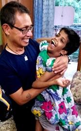 With Guria in Kolkata