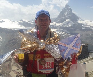 Tea and medals at the end of the Zermatt Ultra