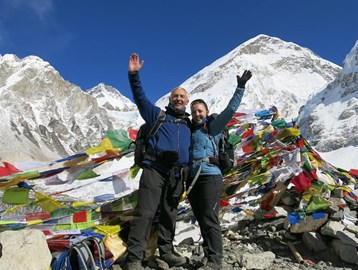 We made it! Everest Base Camp