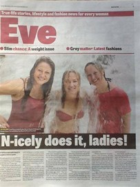 Our #icebucketchallenge was featured in The Blackpool Gazette on Tues 2 September 2014