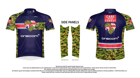 The participants jersey designed by PRIMAL Europe