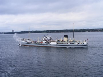 The steamship Shieldhall in 2010