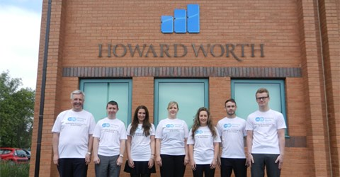 Sporting our new t-shirts