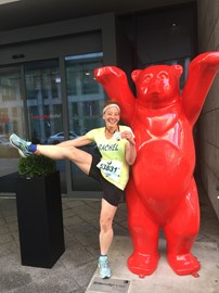 After Berlin marathon Sept 2017