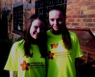 Georgie and Abbie in their shirts!