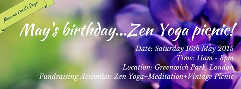 Join our Zen Yoga picnic: https://www.facebook.com/events/1041697432526785/