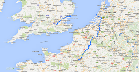 TWR15 -Route-