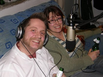 Andy and Lisa near the end of Megapoddy1