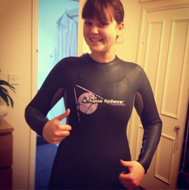 Wetsuit arrived!