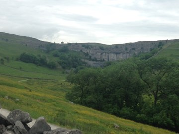Malham Cove - Top100 Climbs