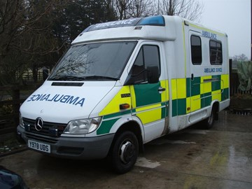 Our Ambulance, 10,000 miles to Mongolia