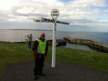Now at John O Groats