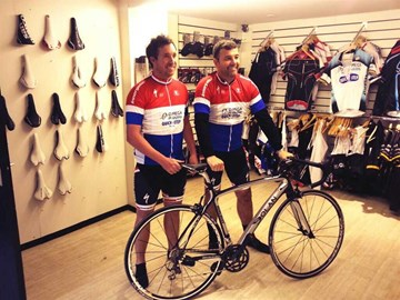 Steve and Robbie looking the part!