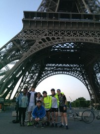 Leaving the Eiffel Tower at 5.30 AM