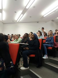 Audience member at UCL