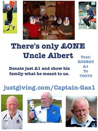 There's only £one Uncle Albert!