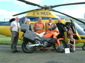 leicestershire air ambulance