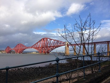Here's the bridge!