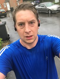 Drenched and spent, only 52K to go!