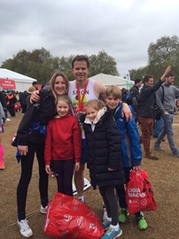 After the London Marathon 2015