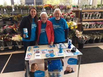 World Parkinson's Day collection at Waitrose Trumpington