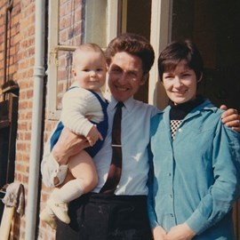 Mum, Dad and me.