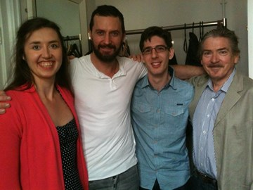 Jeremy and Alicia meet Richard Armitage