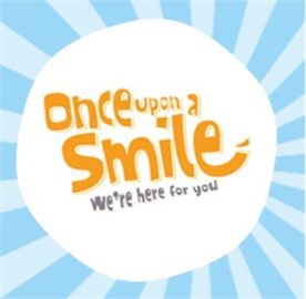 Image result for once upon a smile logo
