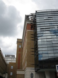 Kings College Hopital Abseil Wall