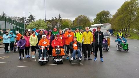 2017 Wheel & Walk participants