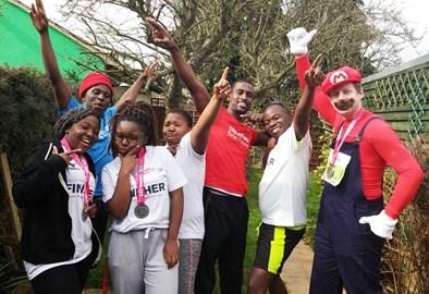 The CBF Half Marathon team