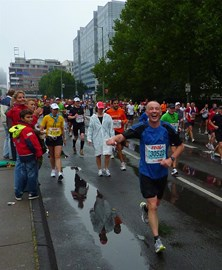 Berlin Marathon after 40 km