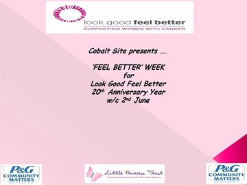 P&G Cobalt present ....... 'Feel Better Week'