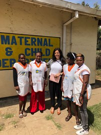 With m2m Mentor Mothers in Kenya, February 2018