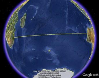 Indian Ocean route