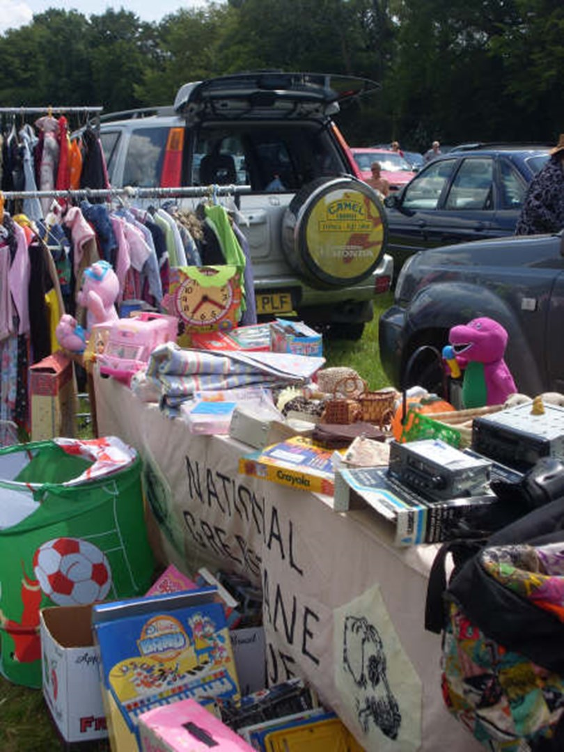 Rusper Car Boot Sale Is Fundraising For Springboard Project