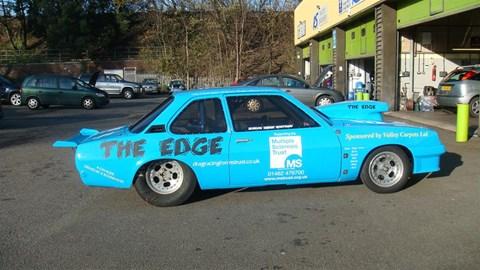 The Edge Drag Racing Car
