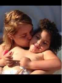 Evie and mummy