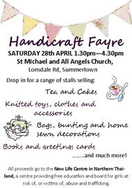 The flyer for the fayre