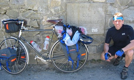 Alan on Col-Du-Tourmalet